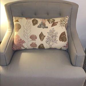 Pottery Barn lumbar pillow cover
